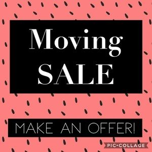 MOVING SALE! CLOSET CLEAR OUT! Make me an offer!